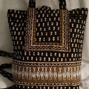 Vera Bradley Vintage Safari Zebra Backpack